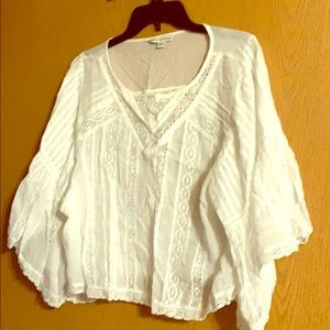 Lace top from AE